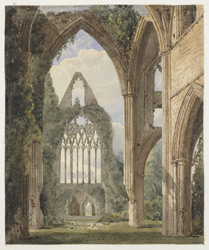 Tintern Abbey, Gloucestershire, 1845